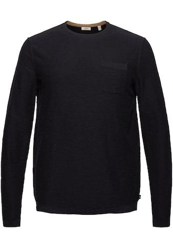 Esprit Strickpullover, mit Brusttasche kaufen
