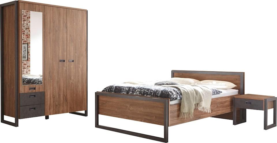 Home affaire Schlafzimmer-Set »Detroit« (4-tlg.) auf Rechnung ...