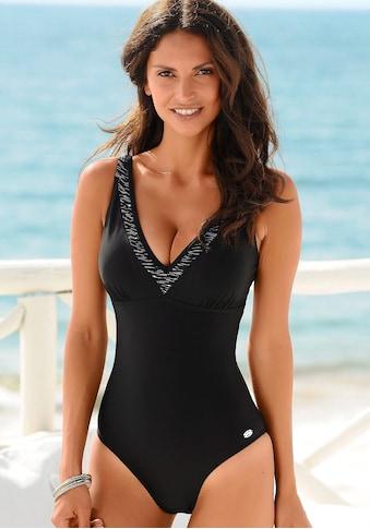 KangaROOS Badeanzug, mit bedrucktem Einsatz am Ausschnitt kaufen