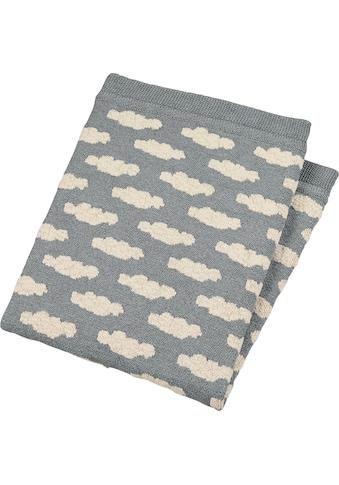 Sterntaler® Babydecke »GOTS Strick-Schmusedecke«, aus Organic Cotton kaufen