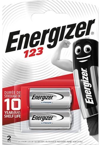 Energizer Batterie »Lithium Foto 123 2 Stück«, 3 V kaufen