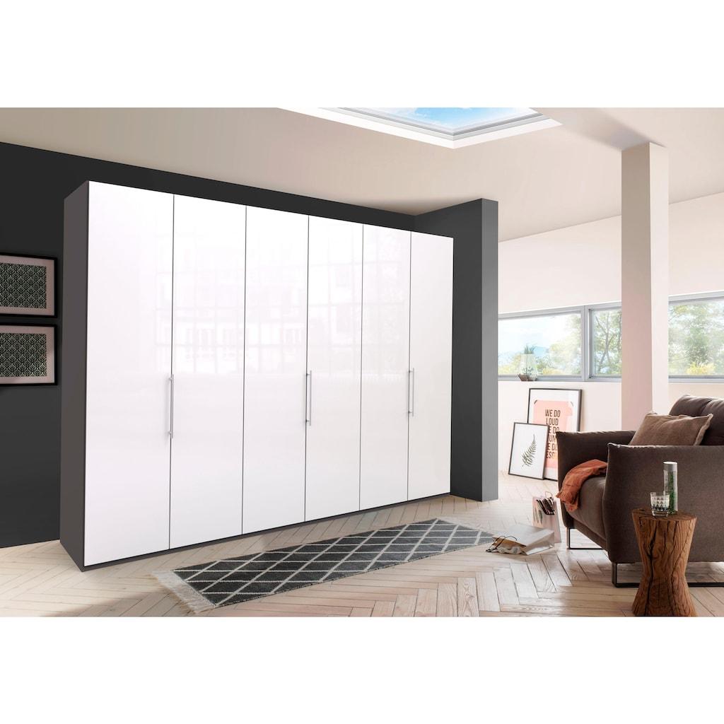 WIEMANN Falttürenschrank »Loft«, Glasfront