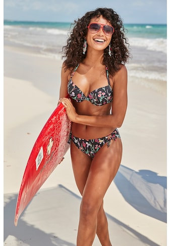 LASCANA Bikini-Hose »Bloom«, mit sommerlichem Design kaufen