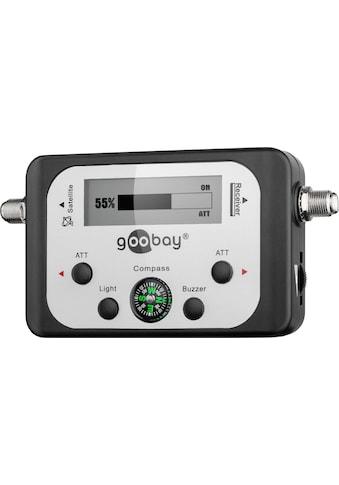 Goobay Satelliten-Finder mit digitaler Pegelanzeige kaufen