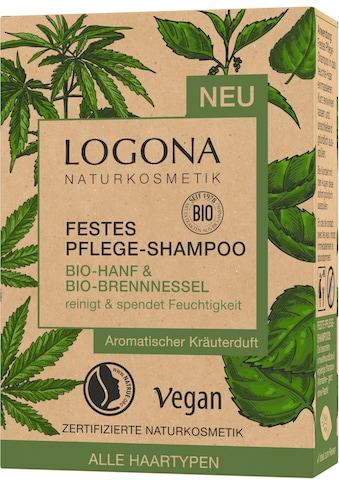 LOGONA Haarshampoo »Logona Festes Shampoo Hanf & Brennnessel« kaufen