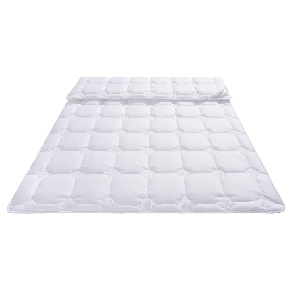 DELAVITA Microfaserbettdecke »Memel«, warm, Bezug Polyester, (1 St.), mit antibakterieller Veredelung Sanitized® ausgerüstet