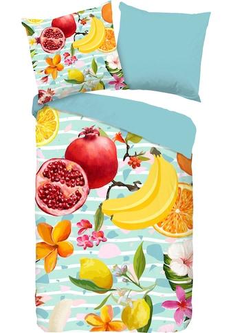 Wendebettwäsche »Fruities«, good morning kaufen