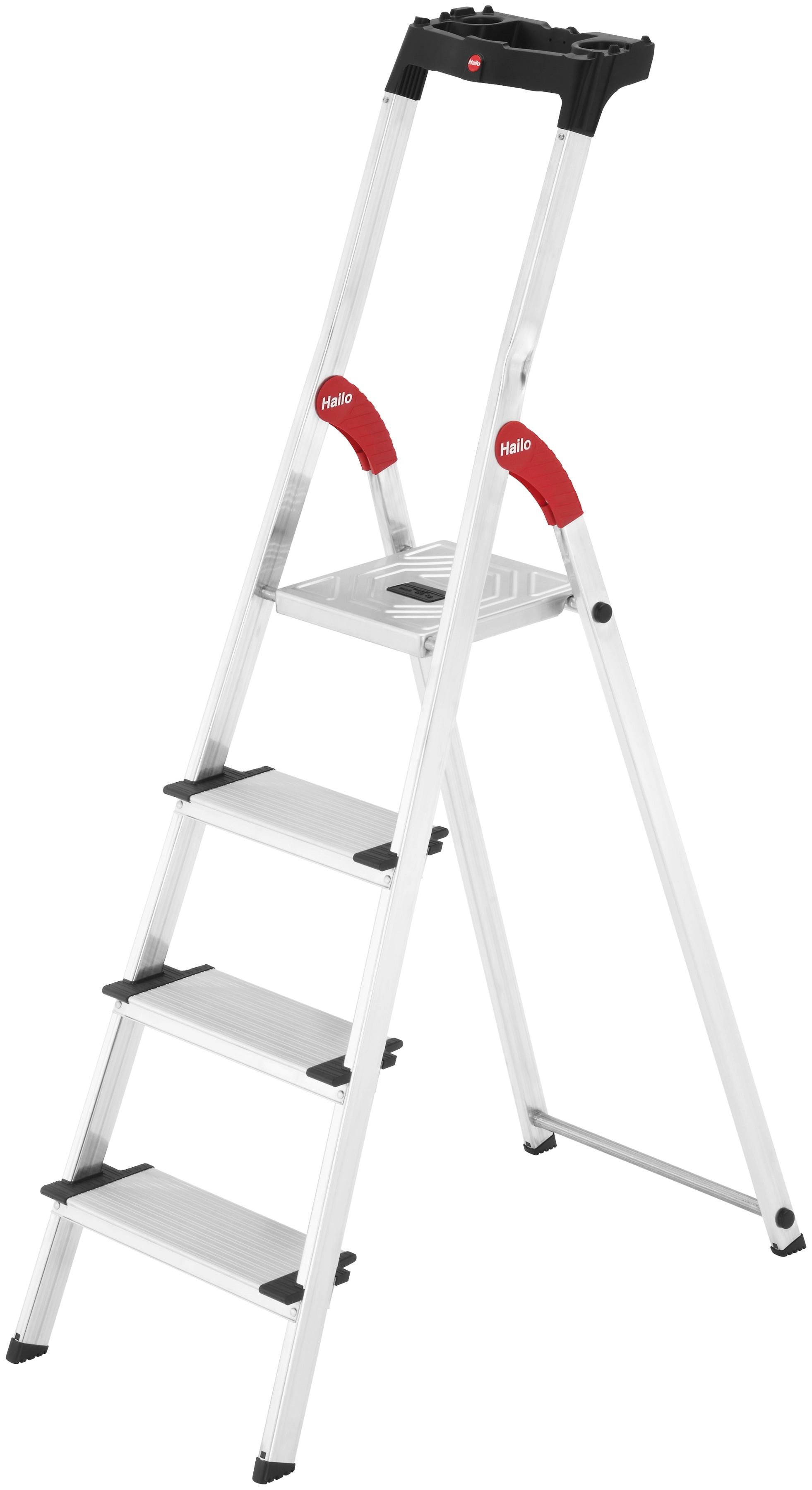 HAILO Sicherheitstrittleiter »XXL EasyClix« | Baumarkt > Leitern und Treppen | Aluminium | Hailo