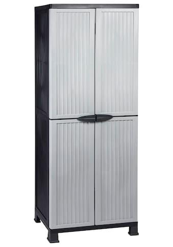 Kreher Mehrzweckschrank »Noble«, B/T/H: 68x40x171 cm, abschließbar, mit 3 Böden kaufen