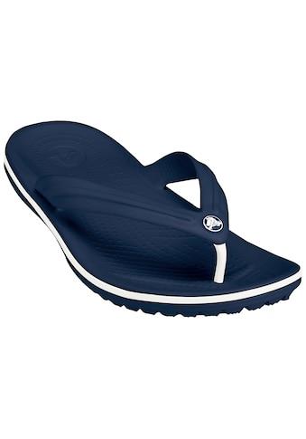 Crocs Sandale »Crocband Flip navy« kaufen