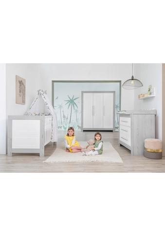 Schardt Babyzimmer-Komplettset »Scandic«, (Set, 3 St.), Made in Germany; mit... kaufen