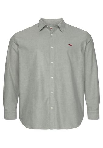 Levi's® Plus Langarmhemd »BIG BATTERY HM SHIRT«, in leicht melierter Optik kaufen