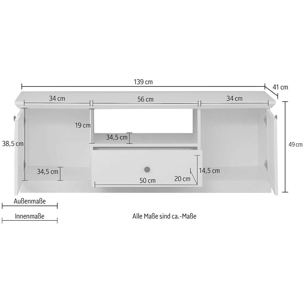trendteam Lowboard »Baxter«, Breite 139 cm