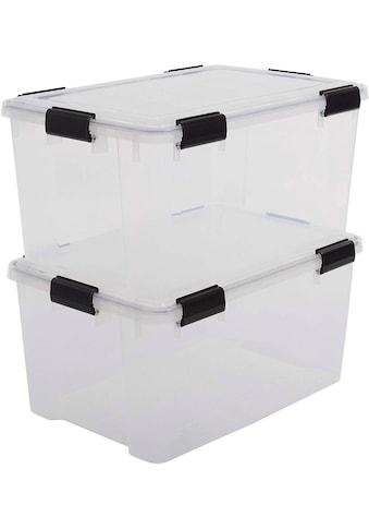 IRIS OHYAMA Aufbewahrungsbox »Water Proof ATL«, (Set, 2 St.) kaufen