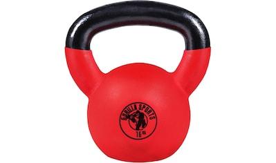 GORILLA SPORTS Kettlebell »Kettlebell Guss mit Gummibeschichtung 16 kg«, 16 kg kaufen
