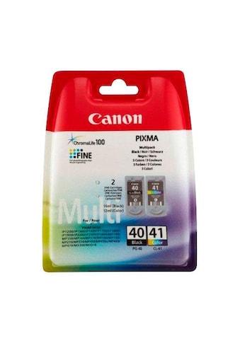 Canon Tintenpatrone »PG-40/CL-41 Kombi-Pack: schwarz, cyan, magenta, gelb« kaufen