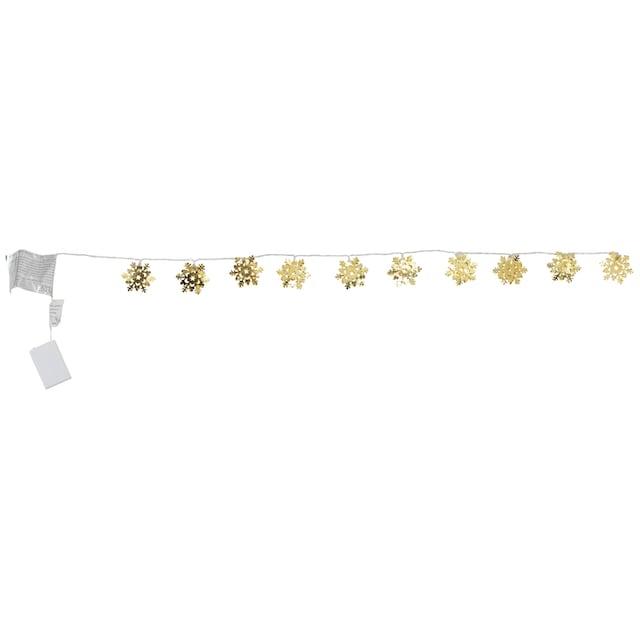 KONSTSMIDE LED-Lichterkette »Schneeflocke«