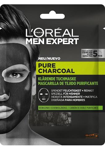 L'ORÉAL PARIS MEN EXPERT Gesichtsmaske »Pure Charcoal Tiefenreinigende Tonerde«,... kaufen
