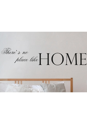 queence Wandtattoo »There's no place like Home«, hohe Klebkraft kaufen