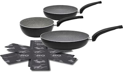Elo - Meine Küche Pfannen-Set »Dolomit«, Aluminium, (Set, 5 tlg.), Induktion, 5-teilig kaufen