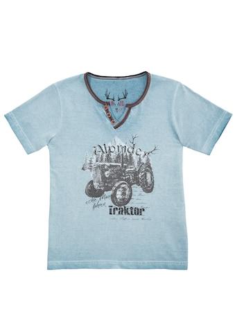 Marjo Trachtenshirt Kinder in verwaschener Optik kaufen