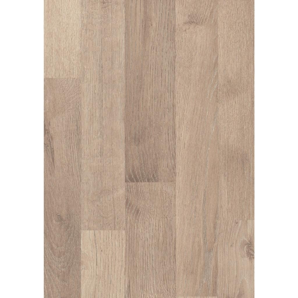 EGGER Laminat »HOME Garrison Eiche grau«, ohne Fuge, 1,985 m²/Pkt., Stärke:8 mm