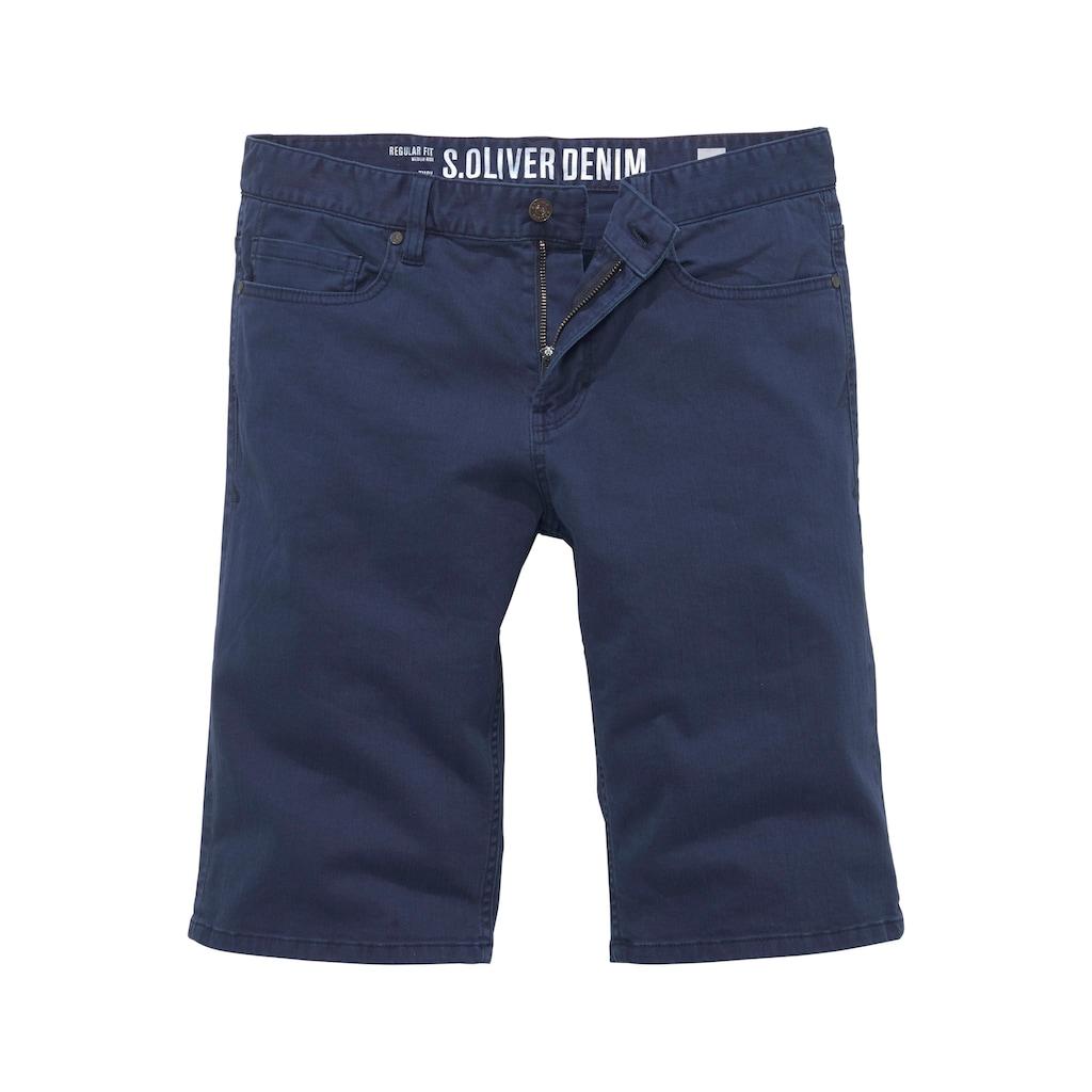 s.Oliver Jeansbermudas, in 5-Pocket-Form