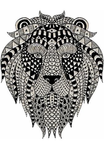 Wandtattoo »Metallic Lion« kaufen