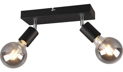 TRIO Leuchten Deckenstrahler »VANNES, Deckenspots, Balken 2-flammig«, E27, 1 St.,... kaufen