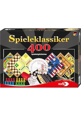 Noris Spielesammlung »Spieleklassiker - 400 Spielmöglichkeiten«, Made in Germany kaufen