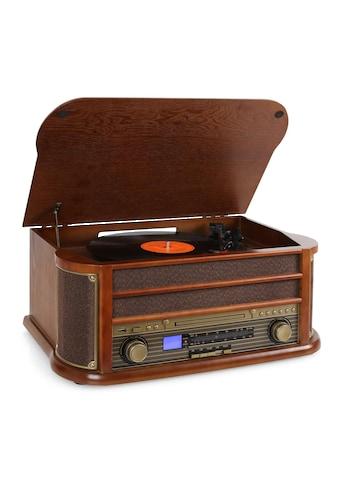 Auna Retro Microanlage USB CD MP3 Nostalgie Plattenspieler »Belle Epoque 1908« kaufen