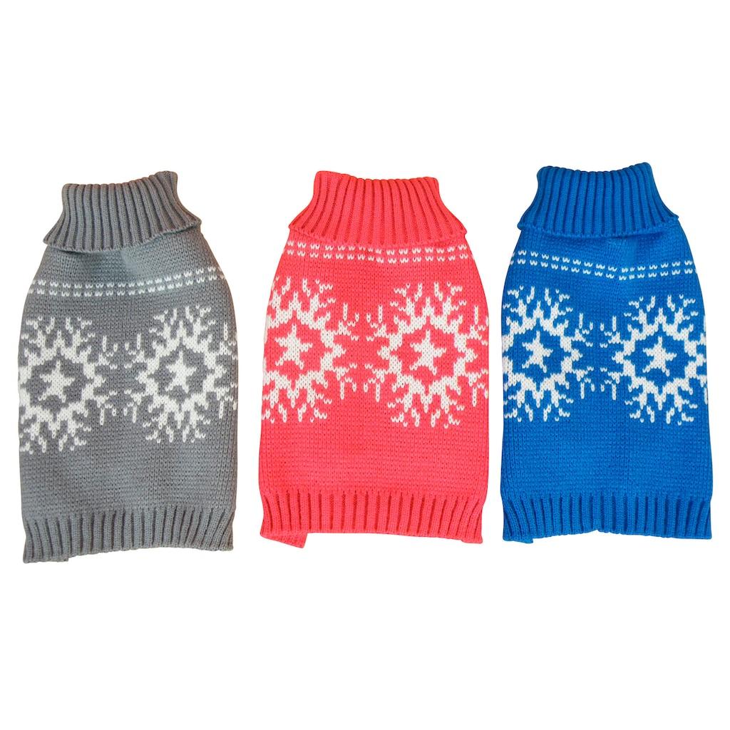 HEIM Hundepullover »Schneeflocke«, Baumwolle