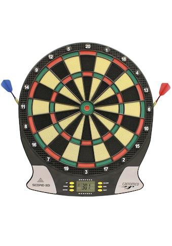 Carromco Dartscheibe »Elektronische Dartscheibe, Elektronik Dartboard Score-301« kaufen
