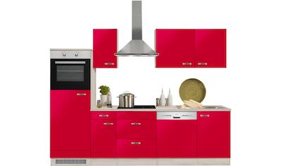 OPTIFIT Küchenzeile »Faro«, mit E-Geräten, Breite 270 cm kaufen