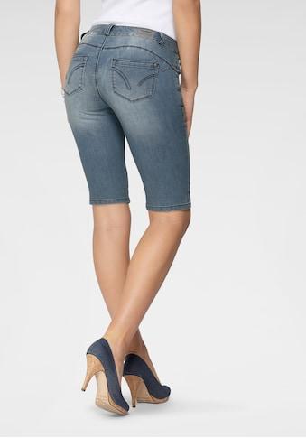 Arizona Jeansbermudas »Shaping«, Mid Waist kaufen