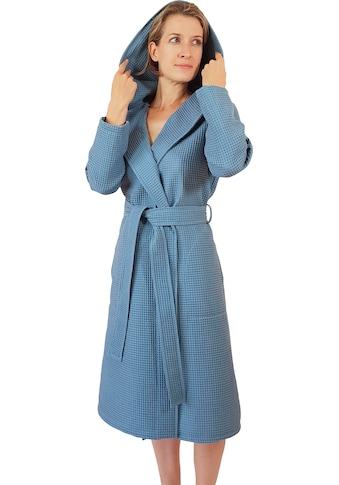 Damenbademantel »Waffelpiqué«, freundin Home Collection kaufen