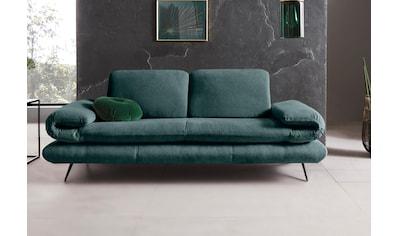 Places of Style 2-Sitzer »Milano«, Sitzbreite je Sitz 65 cm, wahlweise mit Rücken- +... kaufen
