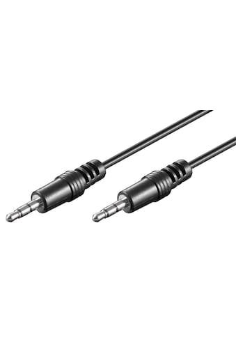 Goobay Audio Verbindungskabel AUX »3,5 mm stereo; CU« kaufen