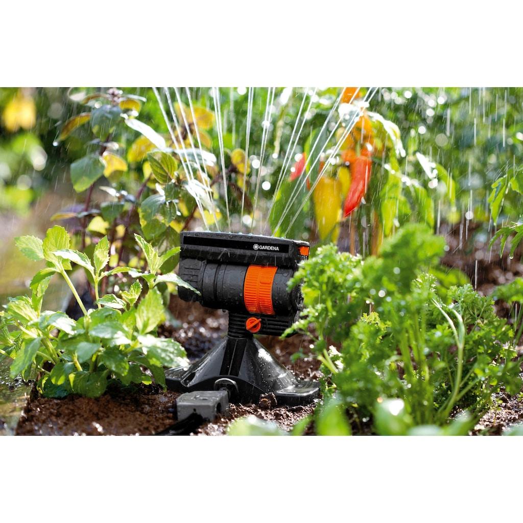 GARDENA Bewässerungssystem »Micro-Drip-System, 8364-20«, Viereckregner OS 90, Wurfweite max. 13 Meter