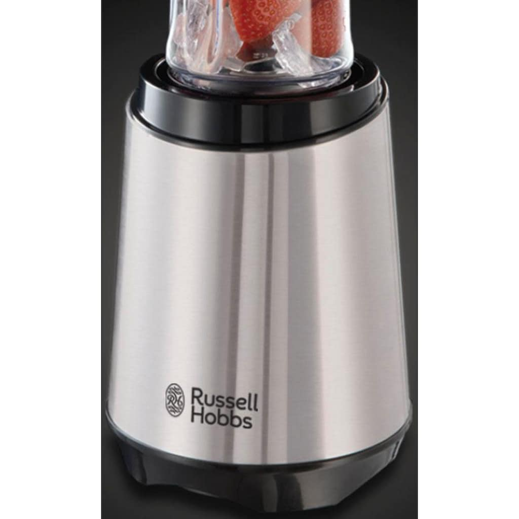 RUSSELL HOBBS Smoothie-Maker »Mix & Go Steel 23470-56«, 300 W