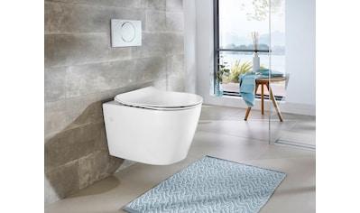 WELLTIME Wand - WC »Vigo«, Toilette spülrandlos, inkl. WC - Sitz mit Softclose kaufen