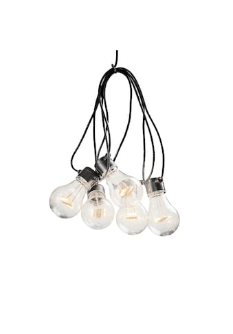 KONSTSMIDE LED-Lichterkette, 5 St.-flammig, LED Biergartenkette, 5 klare Birnen / 40... kaufen