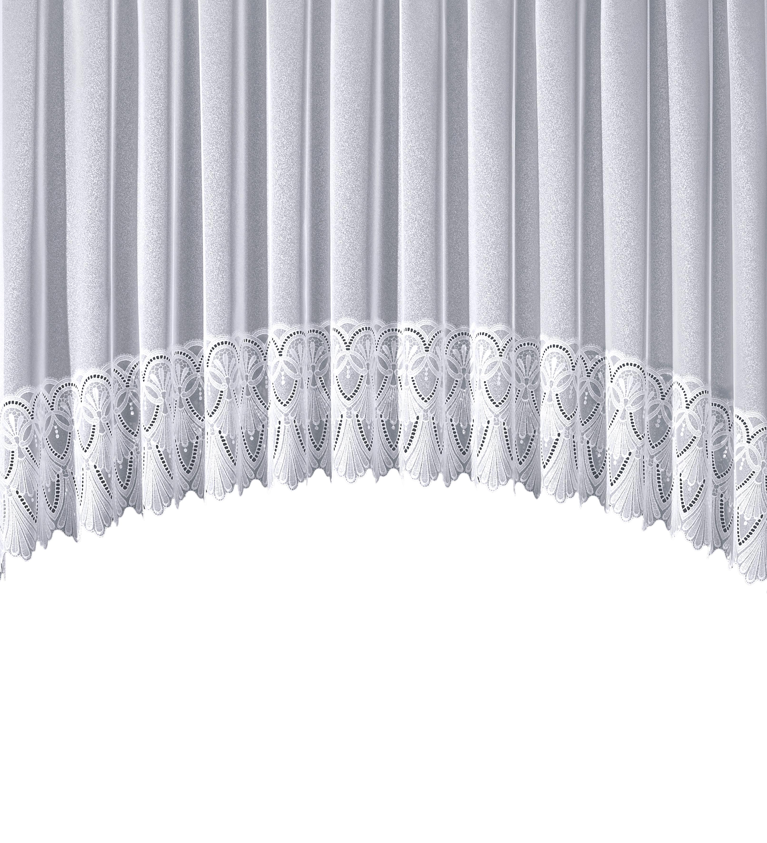 Gardine, »Diana«, Stickereien Plauen, Kräuselband 1 Stück | Heimtextilien > Gardinen und Vorhänge | Stickereien Plauen