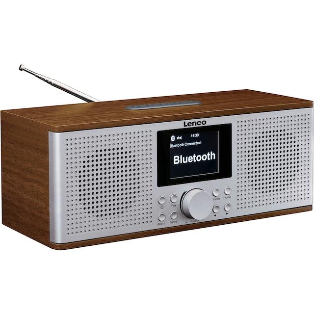 Lenco »DIR-170WA« Internet-Radio (UKW mit RDS,Digitalradio (DAB+),Internetradio,FM-Tuner, 20 Watt)