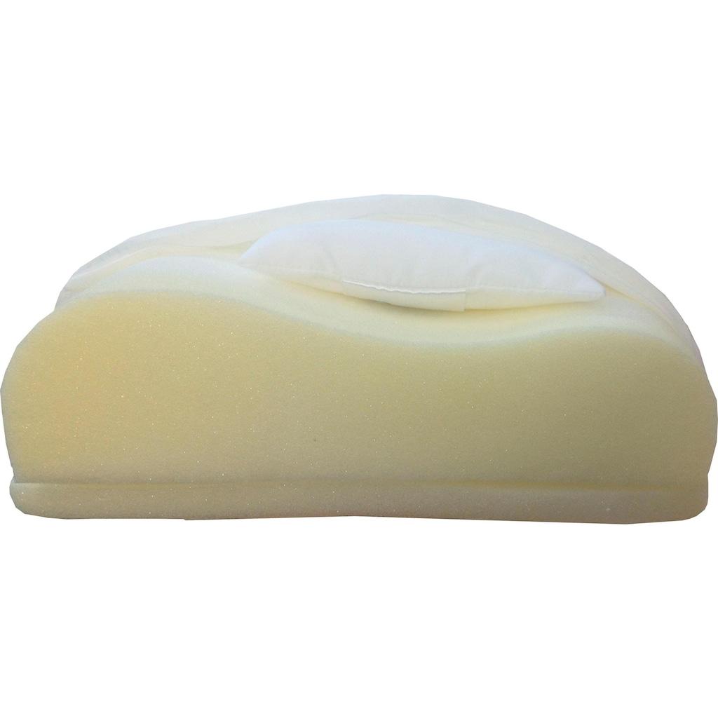 Dreams Nackenstützkissen »DeLuxe Kaltschaum«, Bezug: 100% Baumwolle, (1 St.)