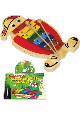 Voggenreiter Spielzeug-Musikinstrument »Voggys Glockenspiel-Set«, Made in Europe kaufen