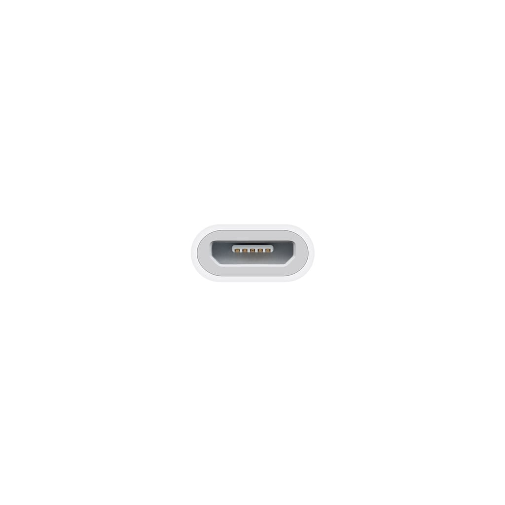 Apple Lightning auf Micro USB Adapter »Zum Verbinden mit Micro USB Kabeln«