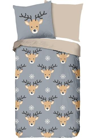 Kinderbettwäsche »Rudolf«, good morning kaufen