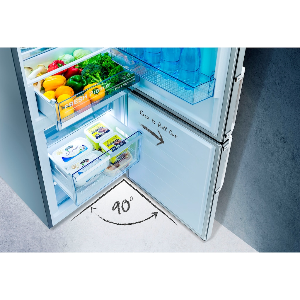 Hisense Kühl-/Gefrierkombination »RB400D4AD2«