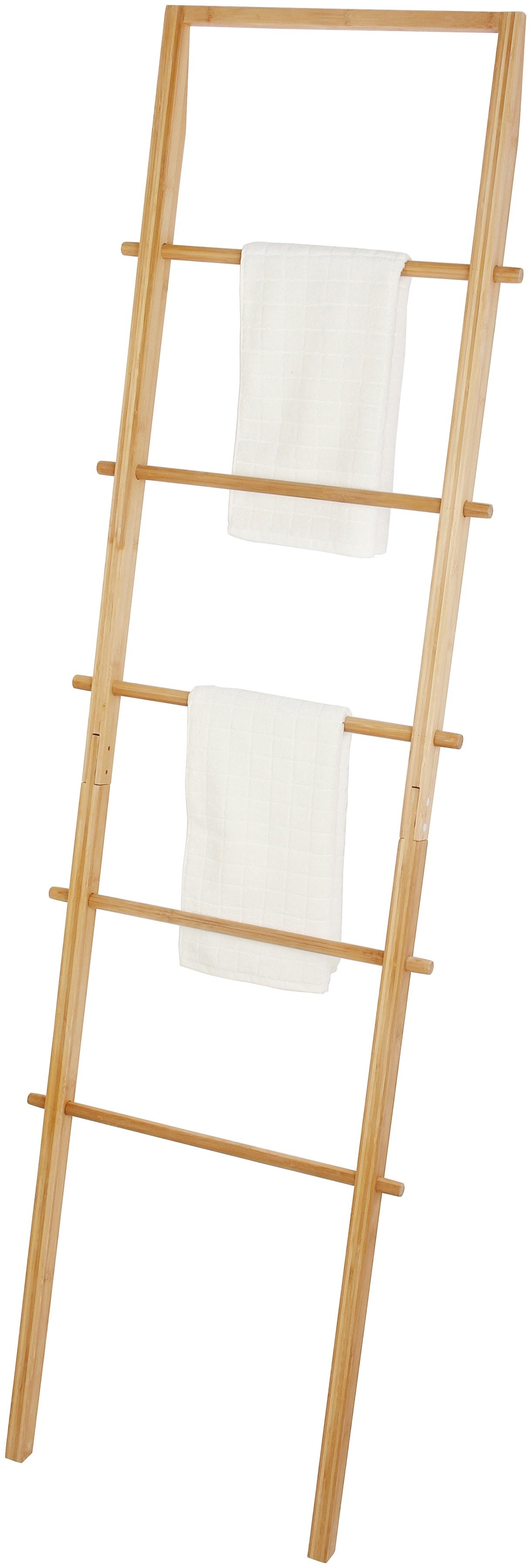 Handtuchhalter Bambusleiter 180 x 54 cm